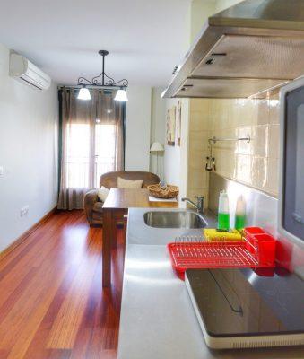 3. Salón y cocina